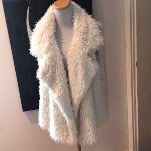 Aeropostale XL faux vest White ivory new no tags